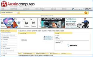 Austin Computers web page
