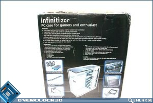 Akasa Infiniti Zor packaging_rear
