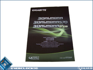 Gigabyte 3D Aurora installation manual