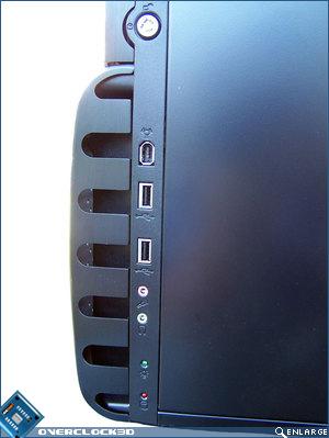 Gigabyte 3D Aurora front panel connectors