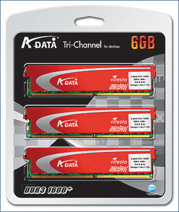 A-Data Tri Channel Memory Kit