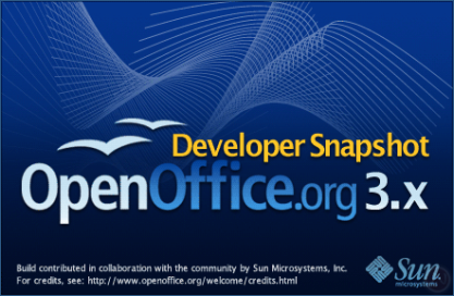 Open Office 3.0 Beta Available