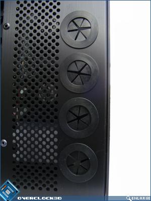X500 Tube holes