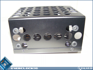 X500 HDD Caddy with rubber spacers