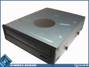 X500 Screws fitted to DVD-RW