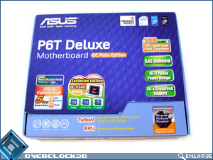 ASUS P6T Deluxe Box Front