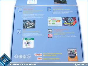 ASUS P6T Deluxe Flap Open