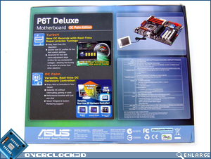 ASUS P6T Deluxe Box Back