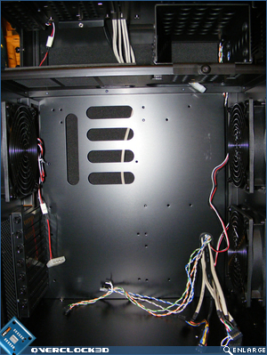X500 Motherboard Compartment