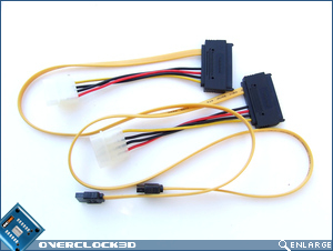 ASUS P6T Deluxe SATA+Power Cables