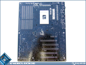ASUS P6T Deluxe Board Back