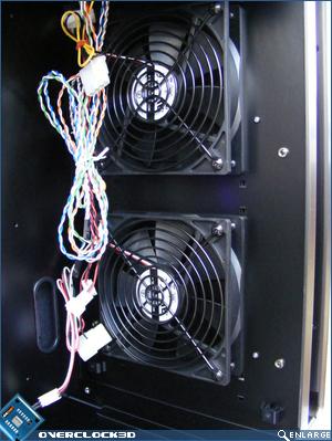 X500 Front Fans