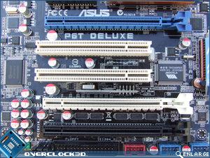 ASUS P6T Deluxe PCI-E Slots