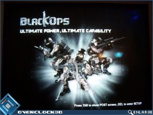 Foxconn BlackOps splash screen