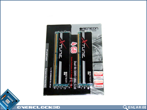 Aeneon Xtune DDR3-1866 Packaging