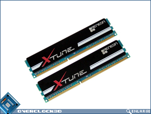 Aeneon Xtune DDR3-1866 Memory Front