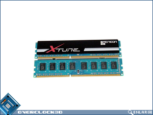 Aeneon Xtune DDR3-1866 Memory Naked!