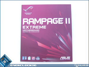 Rampage II Extreme front of box
