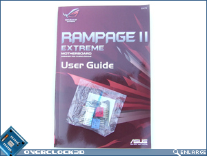 User manual and ASUS quick connectors