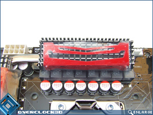 CPU socket area