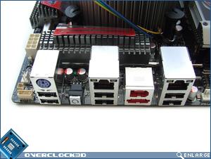 Rear I/O ports