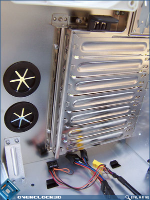 water-cooling grommets and blanking plates