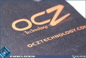 OCZ Behemoth Up close- logo