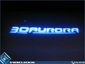 3D Aurora backlight