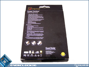 Extreme Cruzer Contour packaging rear