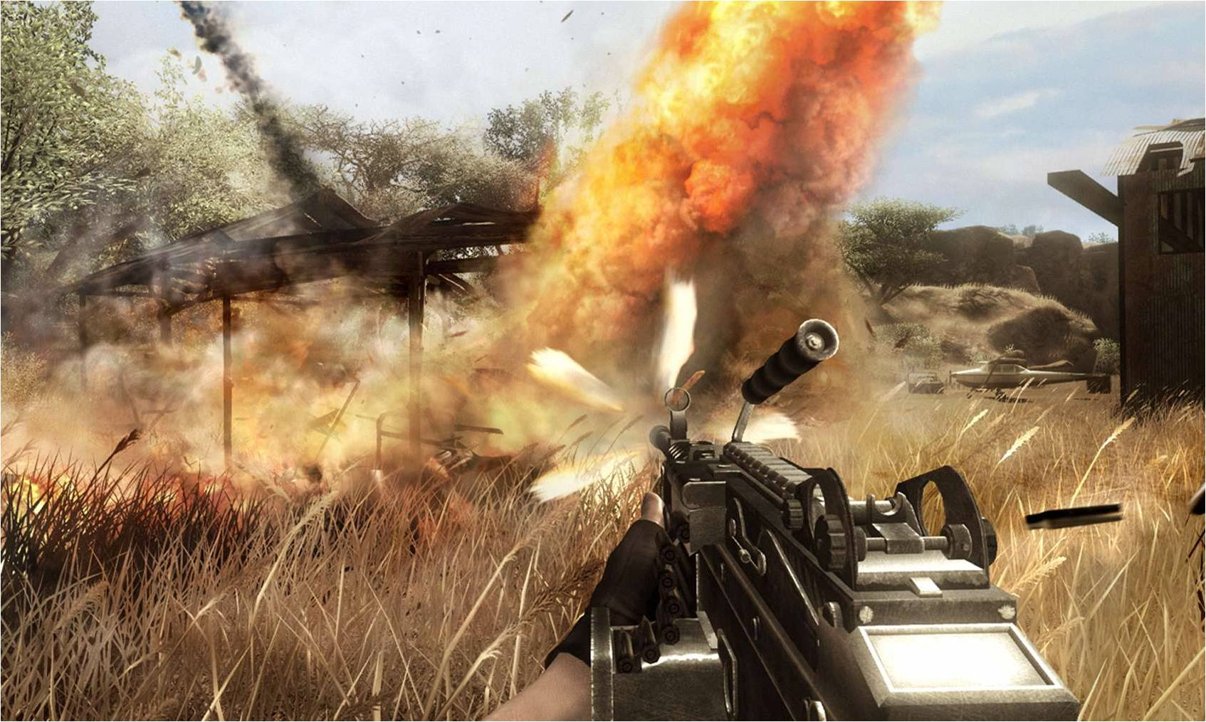 Скриншоты к Far Cry 2.