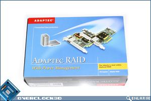 Adaptec RAID 2405 Box Front