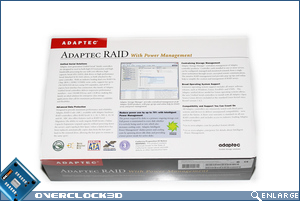 Adaptec RAID 2405 Box Back