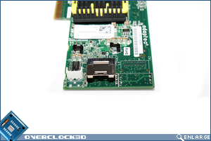 Adaptec RAID 2405 SAS Controller Rear
