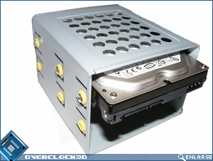 GD02-MT Hard Drive Cage with Hard Drive Fitted