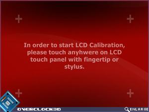 GD02-MT LCD Screen Calibration Screenshot