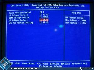 NB voltage control