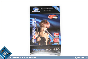 Sapphire HD4830 Box Front