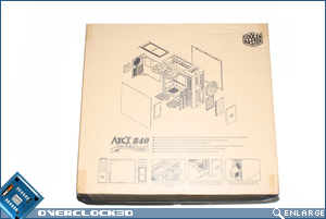 Cooler Master ATCS 840 Box Back