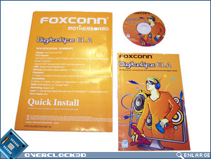 Foxconn ELA quick install guide_support CD and manual