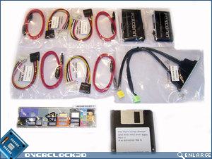 Foxconn ELA cables_I/O plate and RAID setup disk