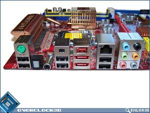 Foxconn ELA rear I/O