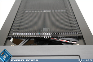 Cooler Master ATCS 840 Fan Grill Open