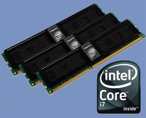 OCZ DDR3 PC3-10666 Intel i7 Triple Channel Memory