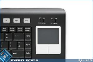 Keysonic QCK-612 RF Touchpad