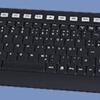 Keysonic ACK-612 RF Wireless Multimedia Keyboard