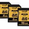 OCZ Release Premium Gold series SDHC cards