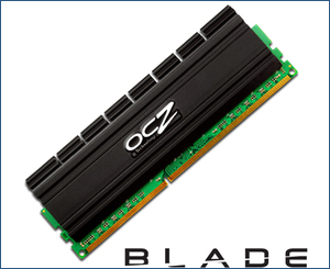 OCZ triple channel mory with Blade Series heatspreaders
