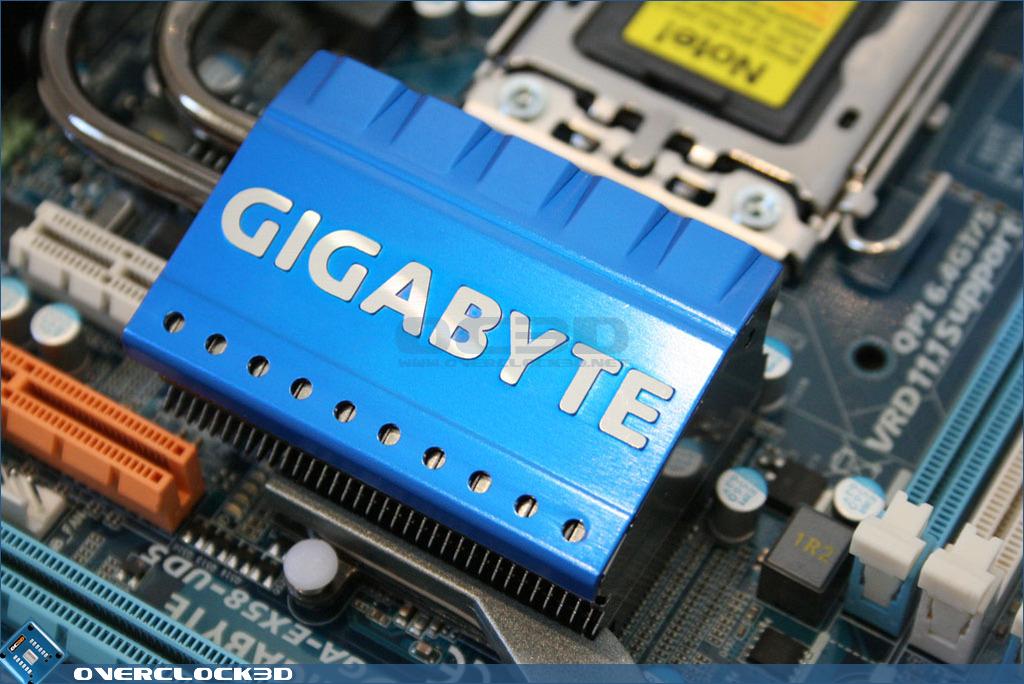 Gigabyte Ex58 Ud5 X58 Motherboard Board Layout