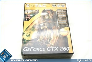Zotac GTX260 Packaging