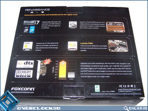 Foxconn Renaissance rear of box